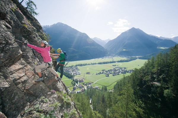 Klettersteig Geierwand : Die besten klettersteige im Ötztal bergsteiger magazin