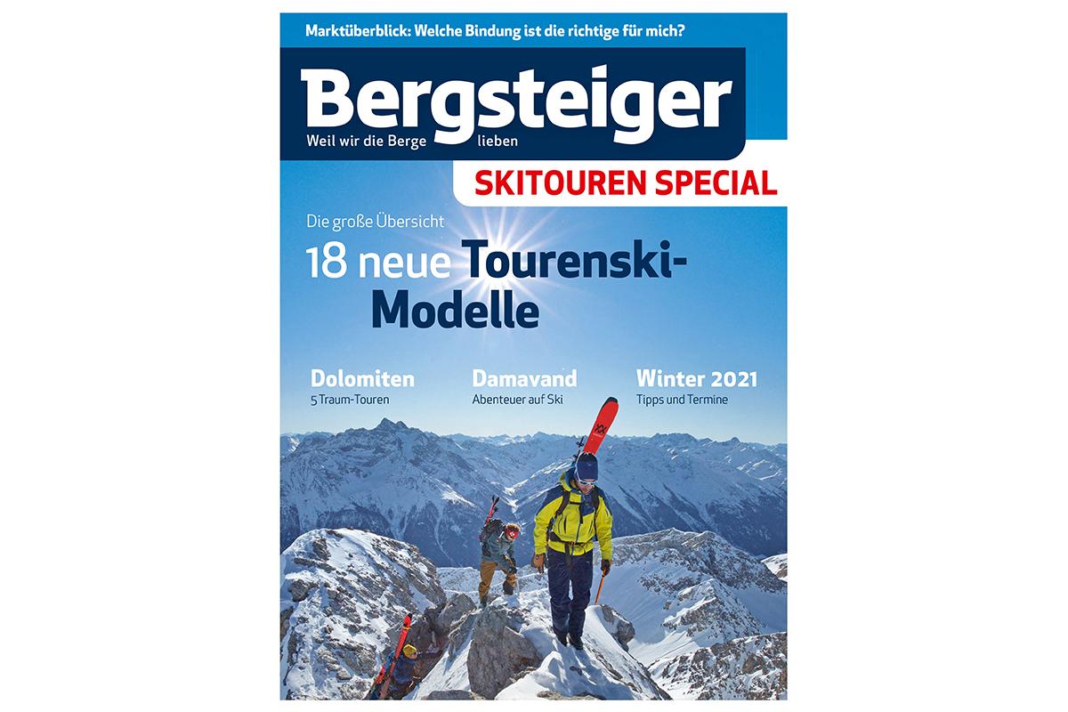 Bergsteiger Skitouren Wendeheft