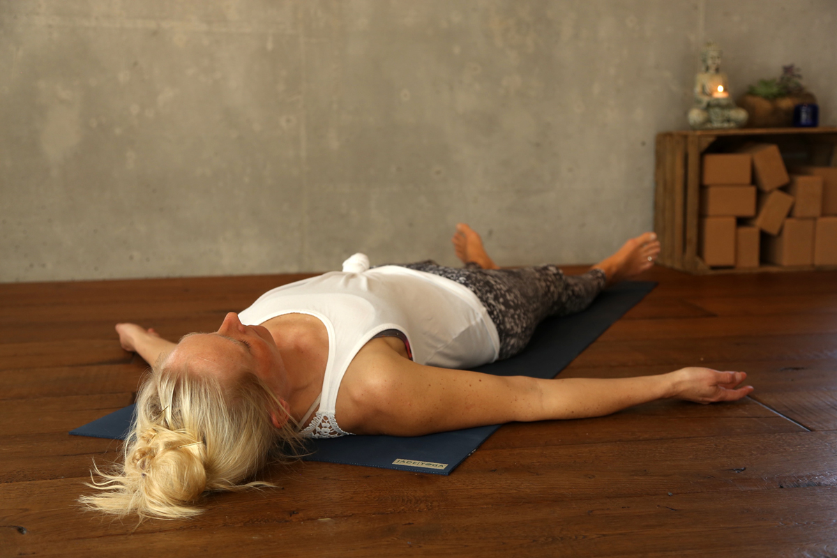Yogaübung Entspannung