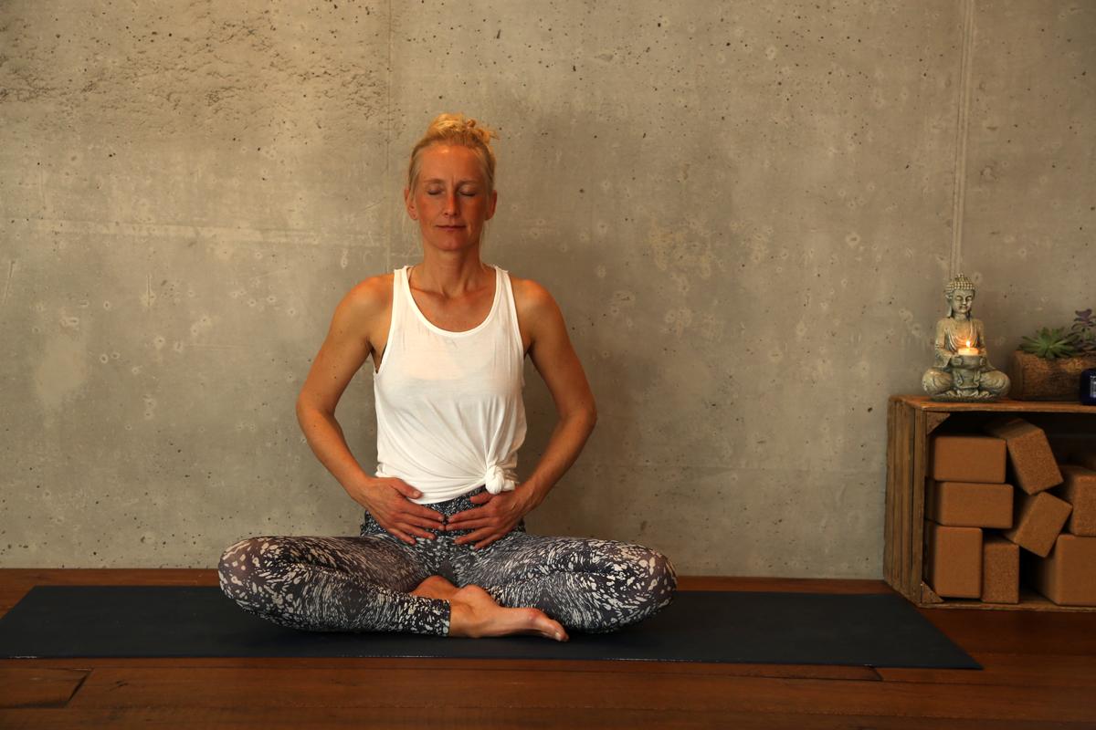 Yogaübung Atem vertiefen
