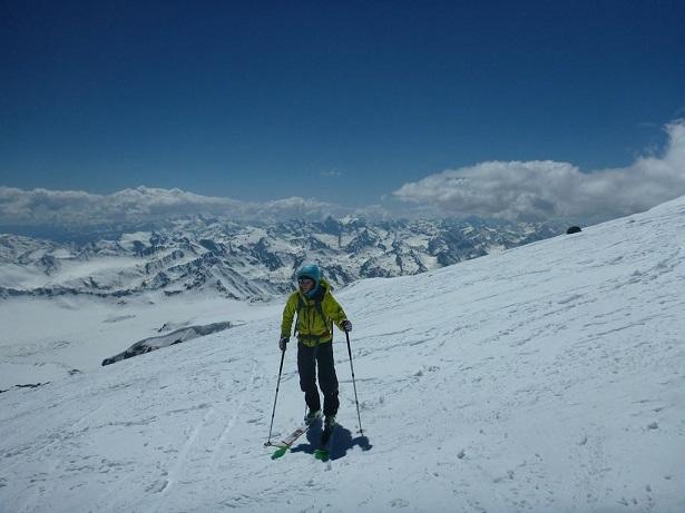 Laura Dahlmeier Elbrus