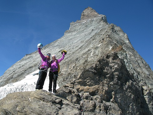 Laura Dahlmeier Miriam Gössner Matterhorn