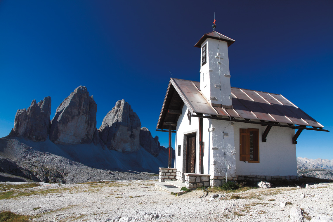 Kapelle vor den Drei Zinnen