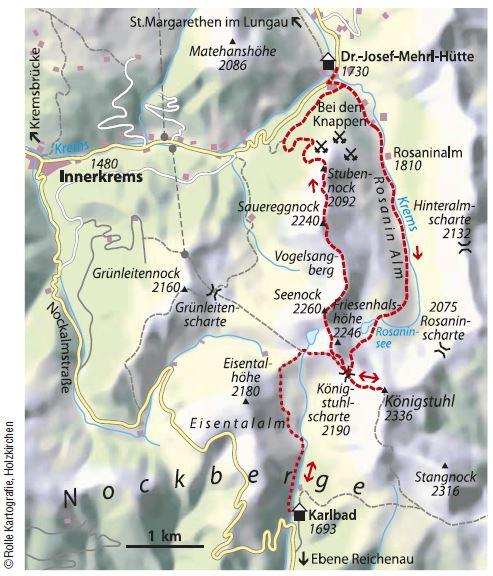 Karte Koenigstuhl