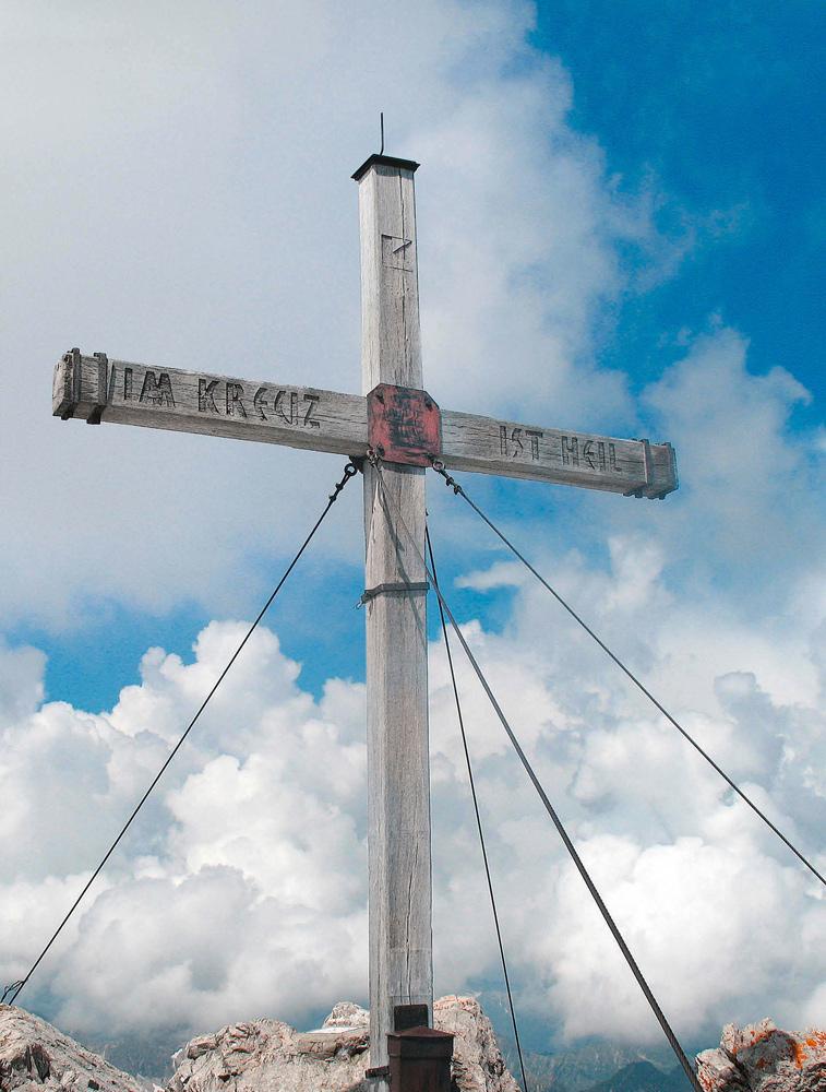 Gipfelkreuz Mädelegabel