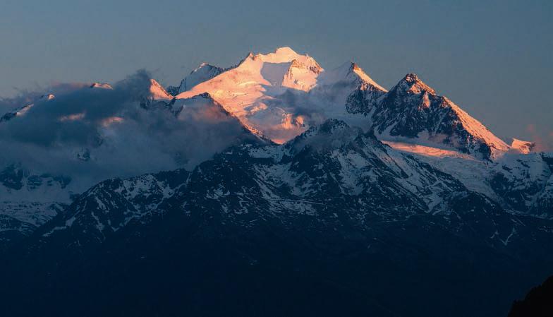 Hochtour Dom Schweizer Alpen