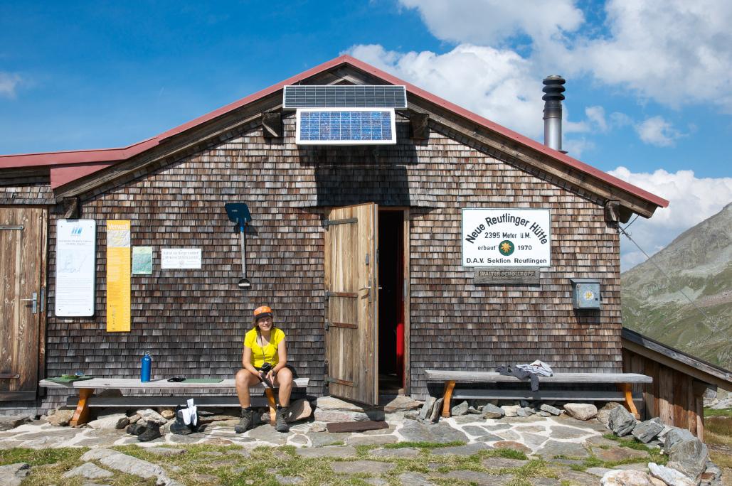 Reutlinger Hütte Verwall