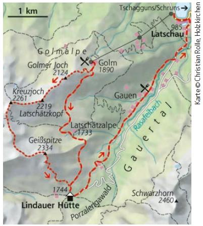 Hüttenwanderung Silvretta Lindauer Hütte