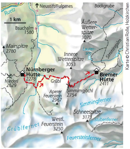 Etappe 5 Stubaier Höhenweg