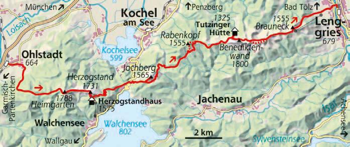 Bergwochenende in den Bayerischen Alpen
