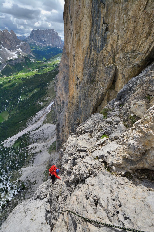 Klettern Adang Dolomiten