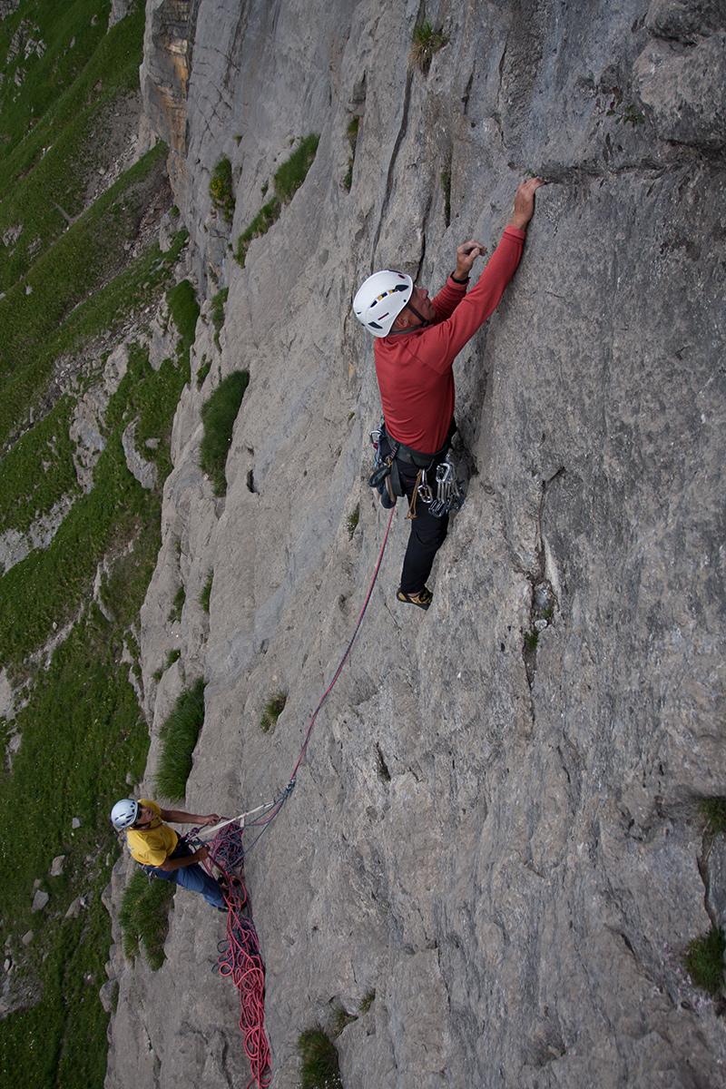 Klettern Ueschene