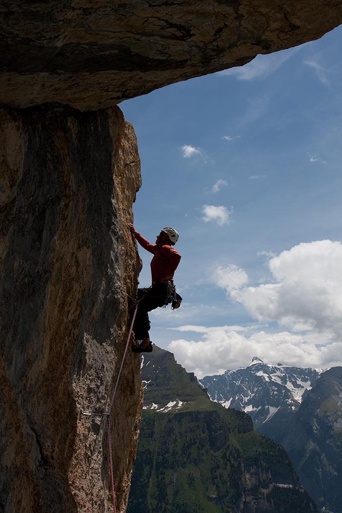 Klettern Ueschenen