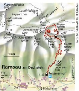Jubilaeums-Klettersteig Dachstein Eselstein