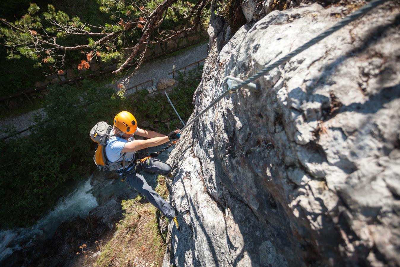 Klettersteigarena Gallitzenklamm