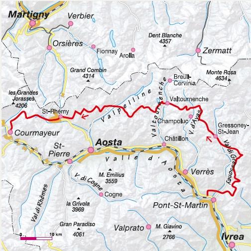 Alta Via Nr. 1 Aostatal