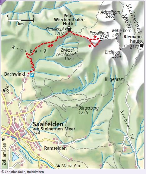 Wildental- und Südwand Klettersteig Steinernes Meer