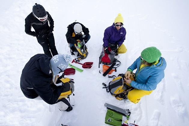 Ausrüstung Skitouren