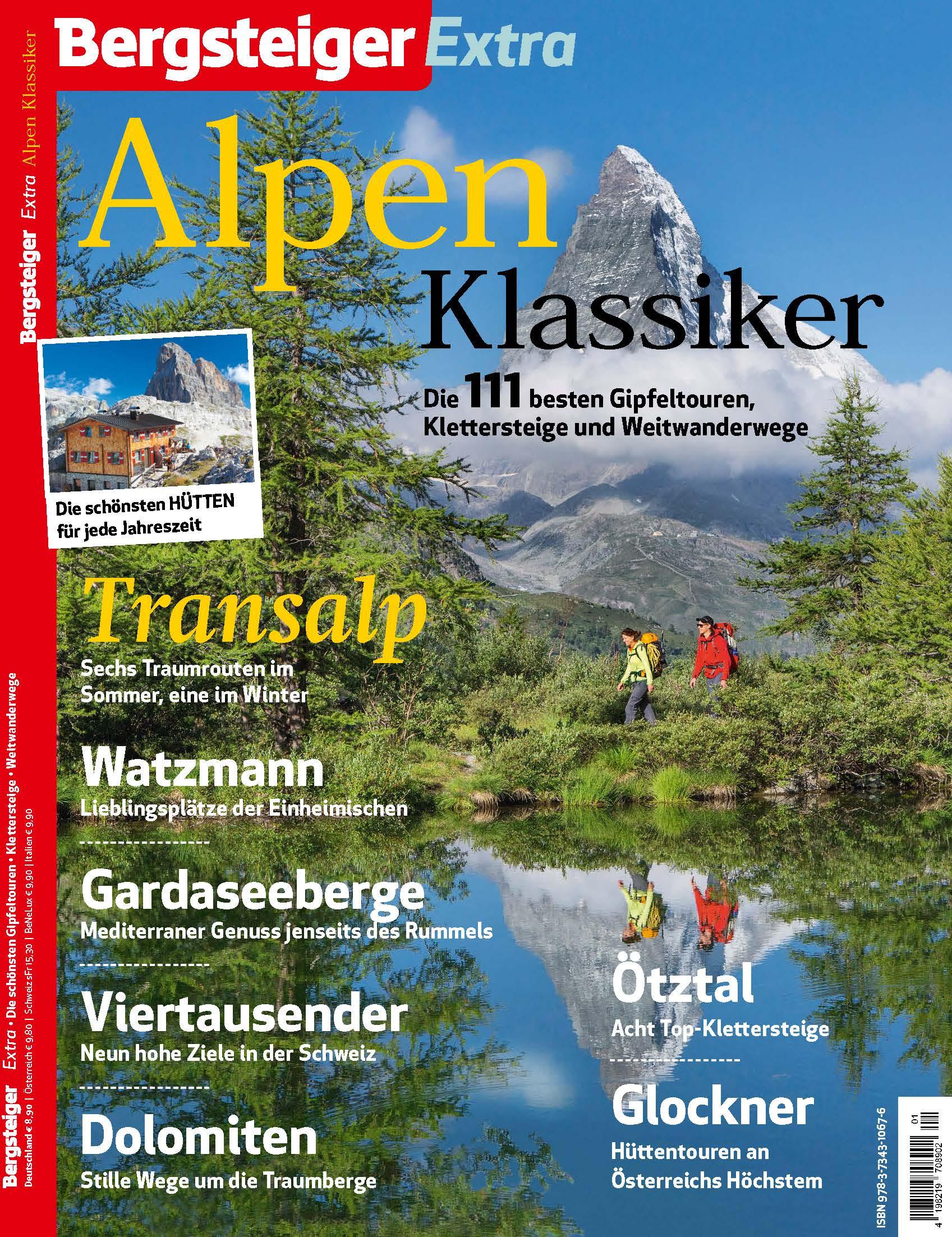 BERGSTEIGER Extra Alpentouren