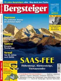 Unterwegs über dem Walliser Saastal