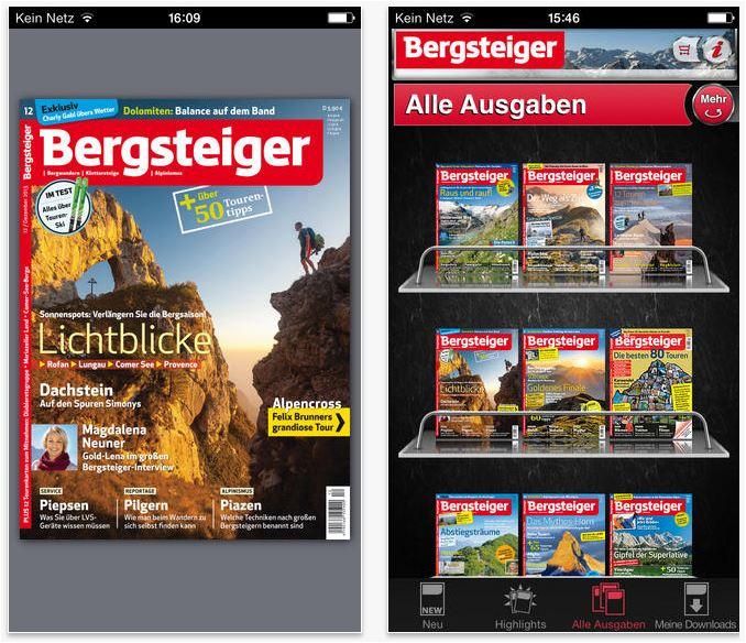 Bergsteiger ePaper App