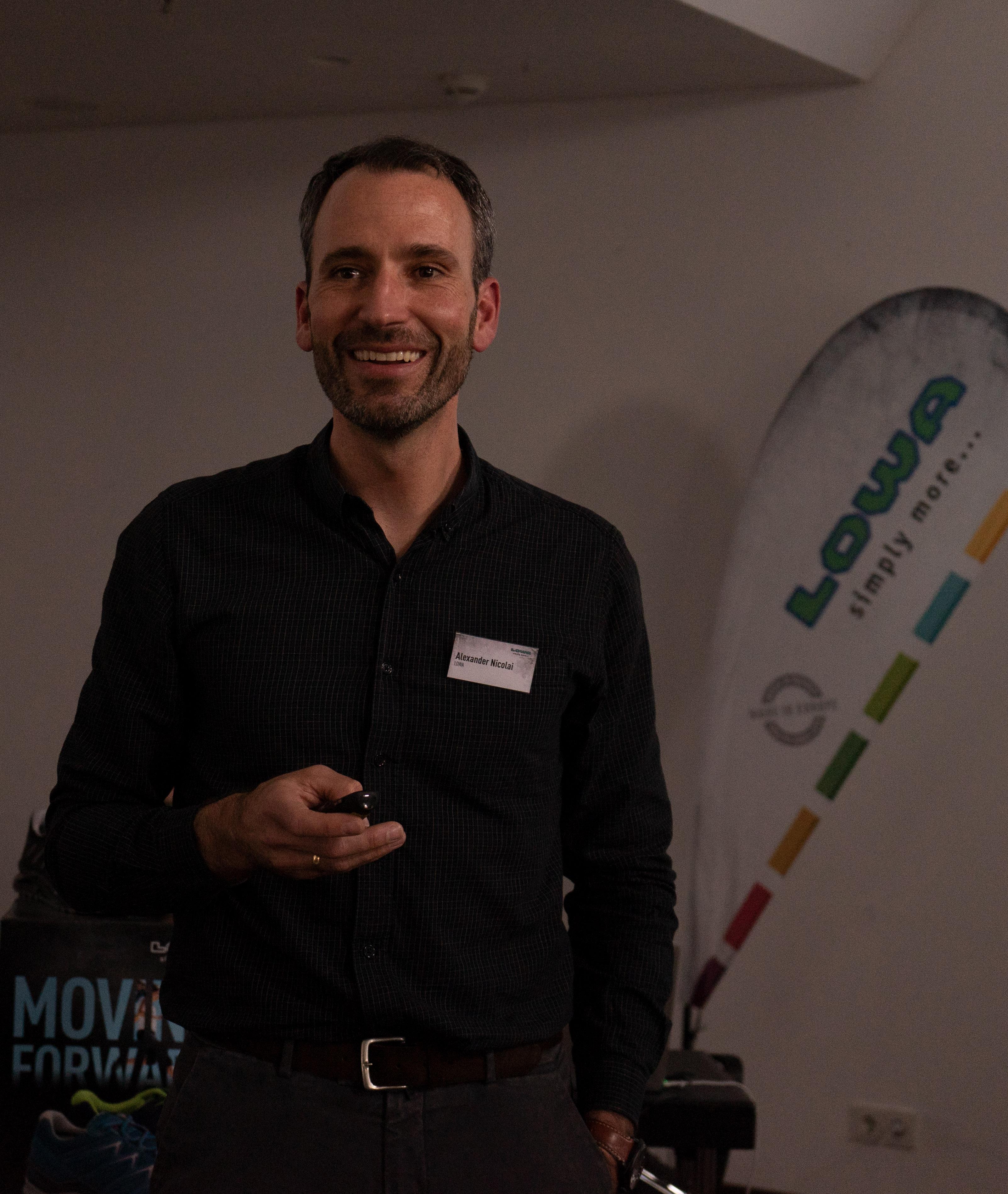 CEO Alexander Nicolai