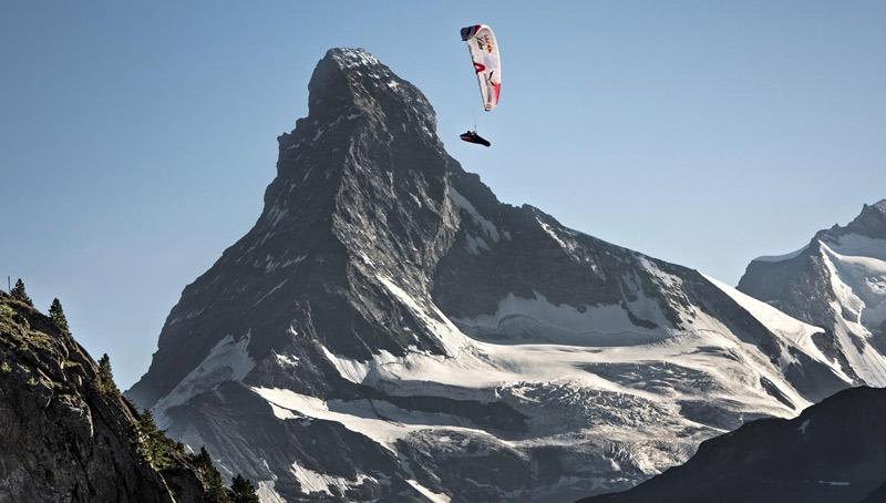 Red Bull X-Alps Matterhorn Gleitschirm