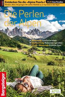 BERGSTEIGER Beilage - Die Perlen der Alpen