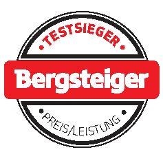 BERGSTEIGER Testsieger Preis/Leistung