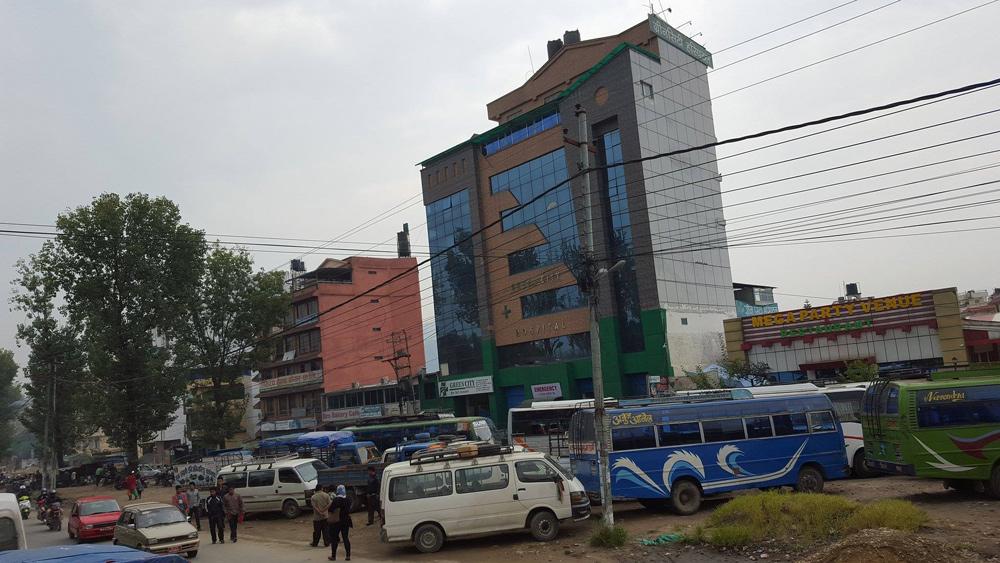 Die Busse stehen still in Nepal