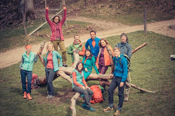 Die Menschen hinter dem Bergsteiger