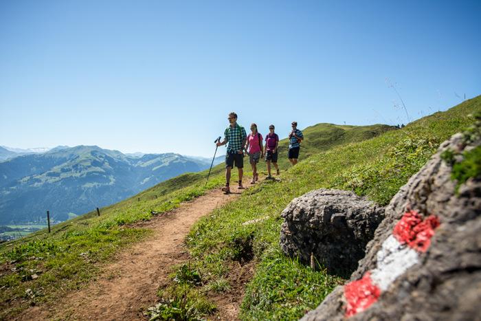 Großer Wanderauftakt vom 31.05. bis 03.06. in Kitzbühel.