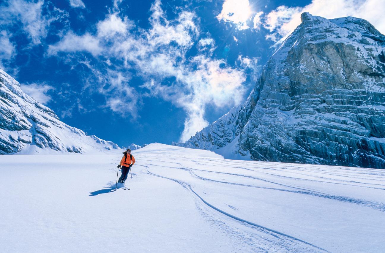 Im Winter ist die Ramsau ein Paradies für Skitourengeher