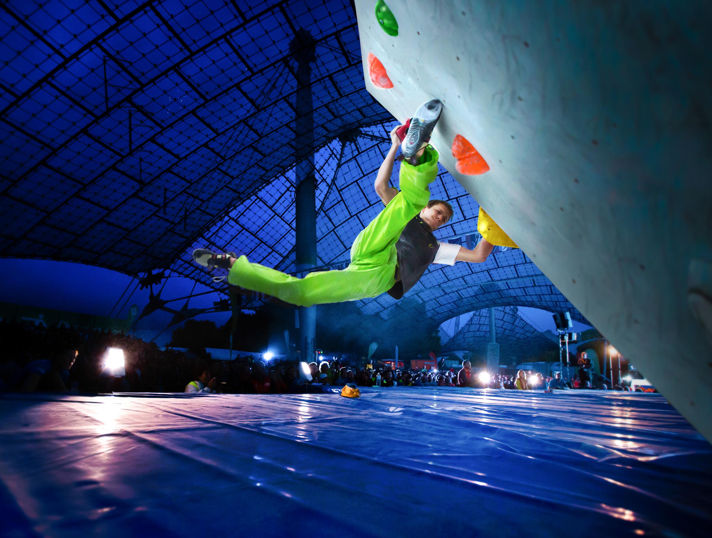 Gewinnspiel zum Boulderweltcup 2015 in München