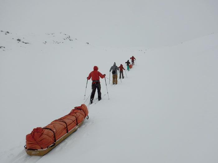 Auf Skitour im norwegischen Nationalpark Hardangervidda