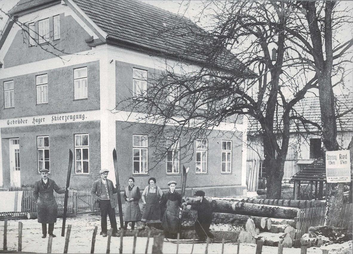 Ein Bild aus den Hagan-Anfängen um 1924