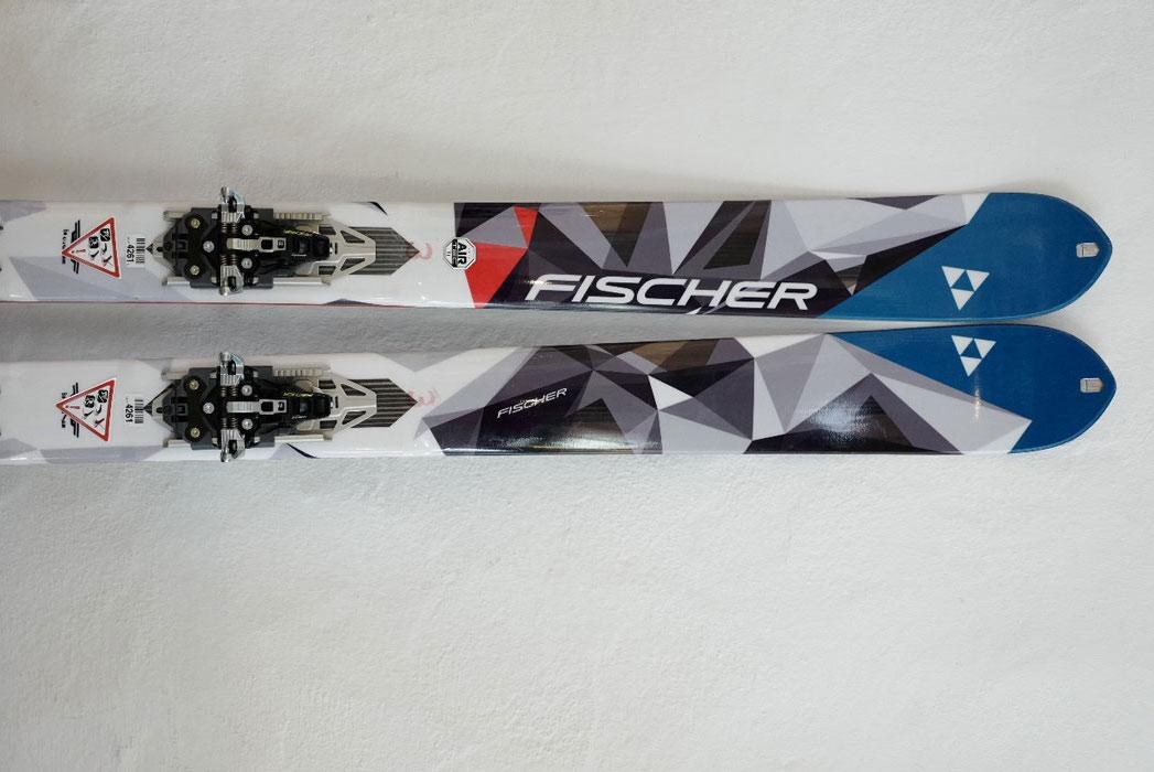 Im Bergsteiger Test: Fischer Hannibal 94