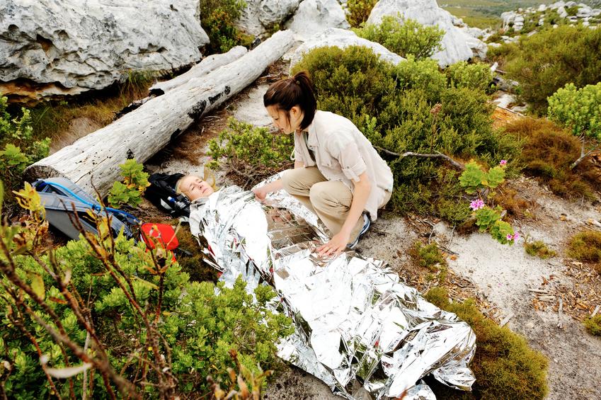 Waren Sie schon mal in einen Bergunfall verwickelt?