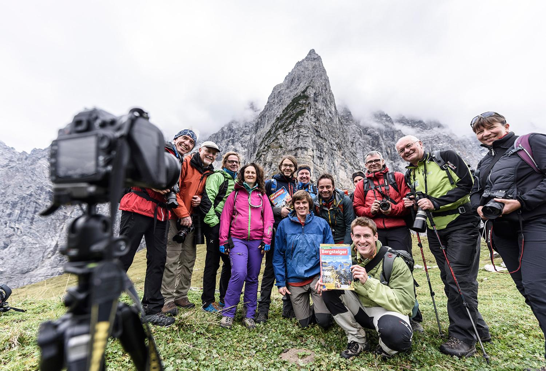 Großer Erfolg: die erste Auflage der BERGSTEIGER-Fototage im Karwendel