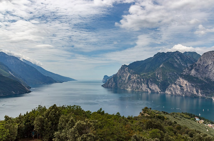 Immer wieder schön: der Gardasee