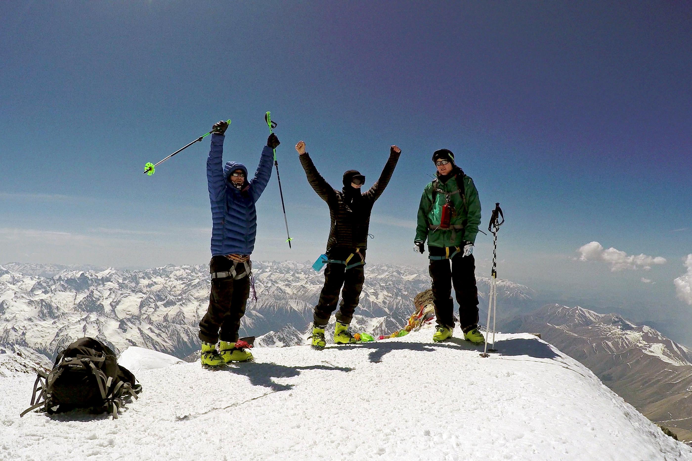 Klettergurt Skitour : Eine skitour auf das dach europas bergsteiger magazin