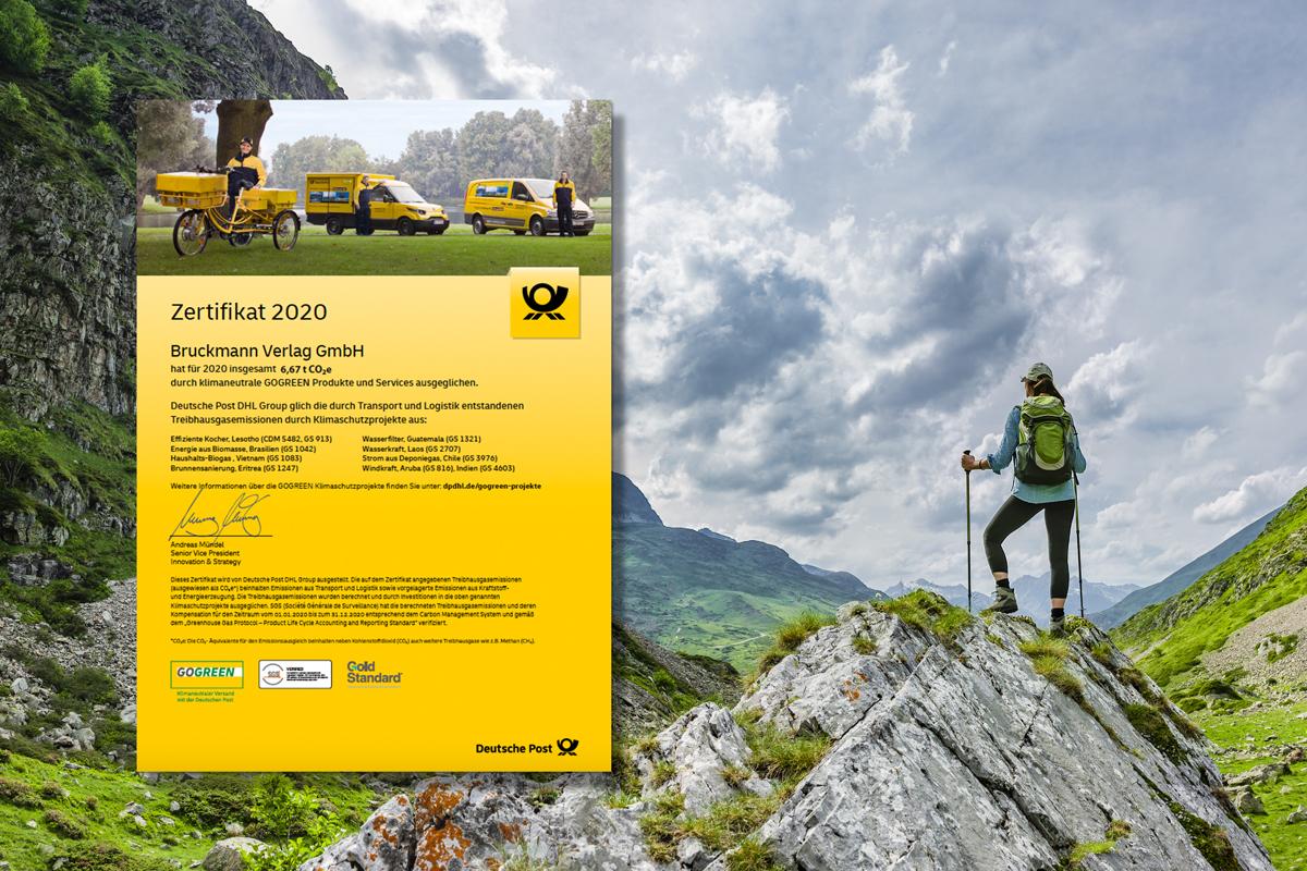 Bergsteiger Go Green