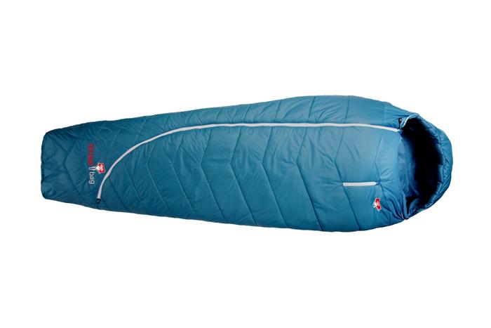 Im Bergsteiger Test: Grüezi Bag Synpod Island 185