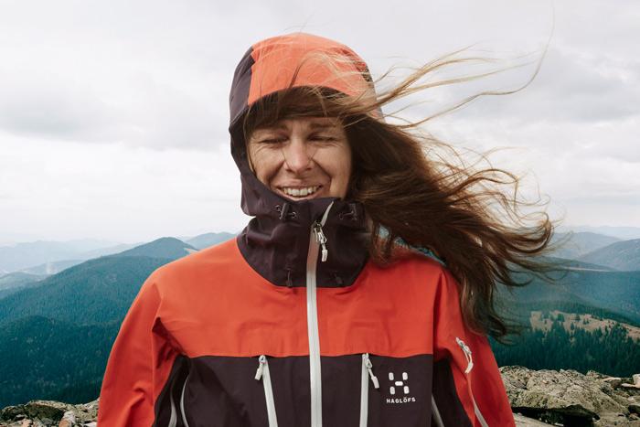 Ein Klassiker im Haglöfs-Portfolio: das Spitz Jacket