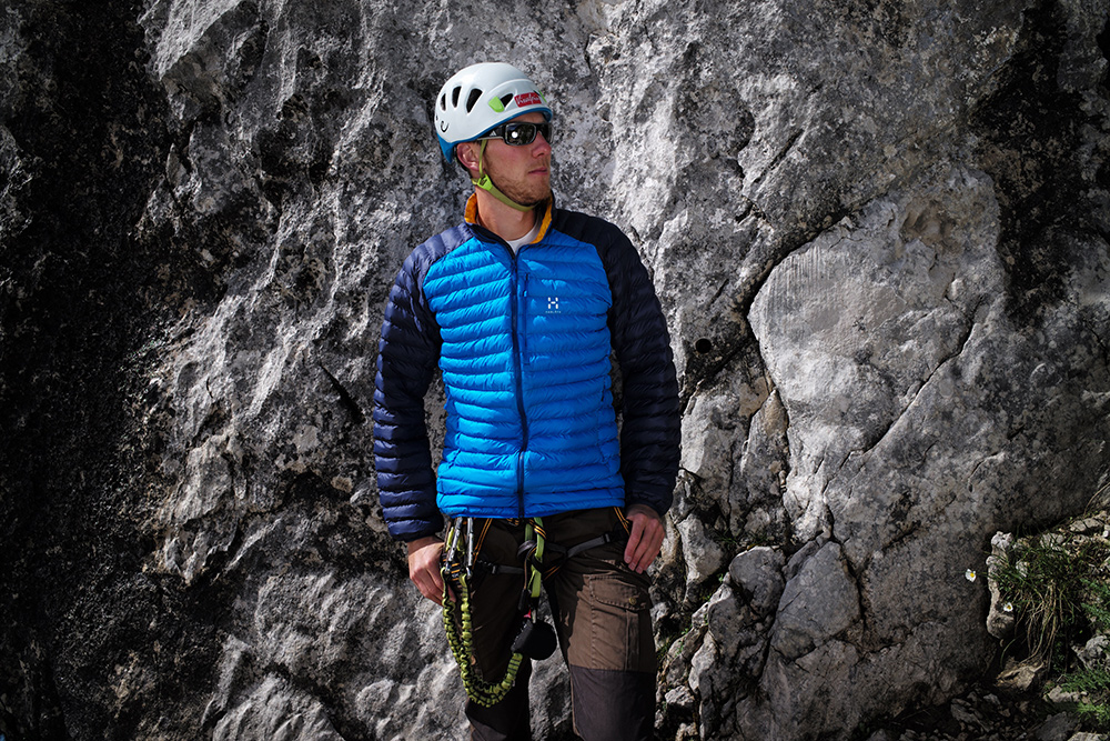 Im BERGSTEIGER Test 10/2015: HAGLÖFS Essens Mimic Jacket