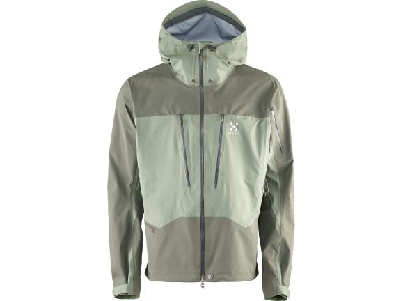 Im Bergsteiger Test: HAGLÖFS 3LV Spitz Jacket
