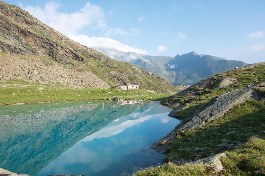 Idyll auf 2383 Meter: die Hauerseehütte, eine Selbstversorgerhütte