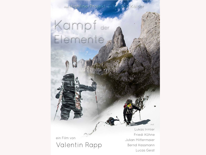 Highline Film »Kampf der Elemente«