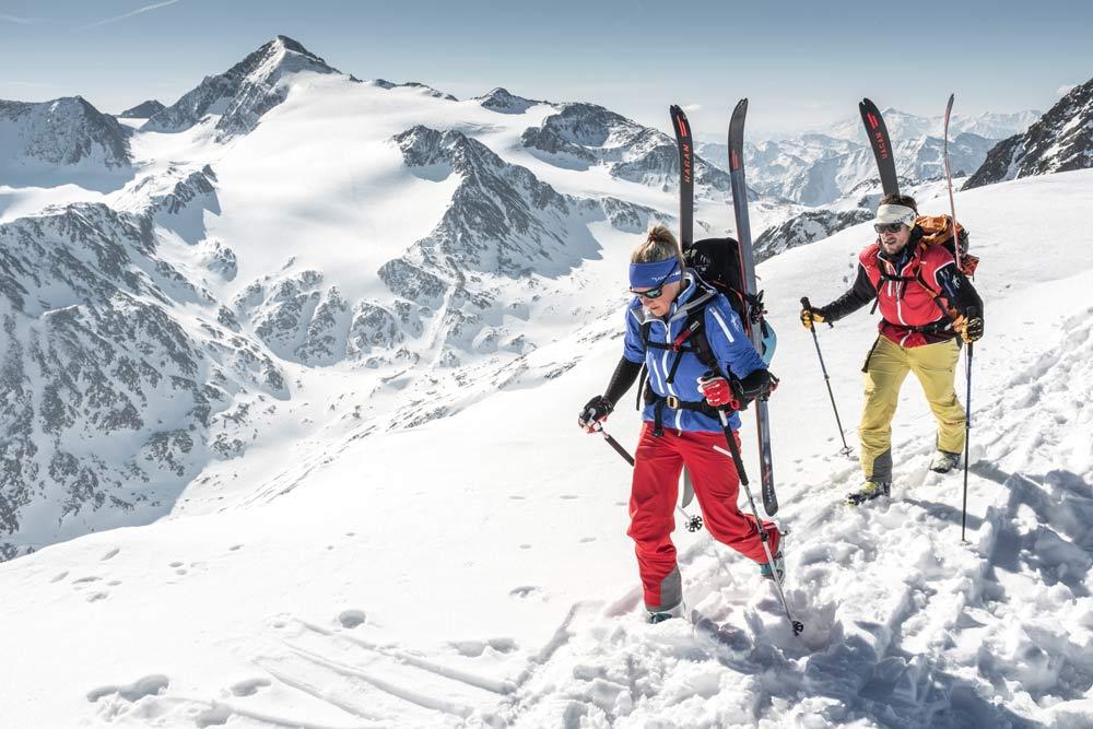 Mit Hyphen und Bergsteiger auf Tour