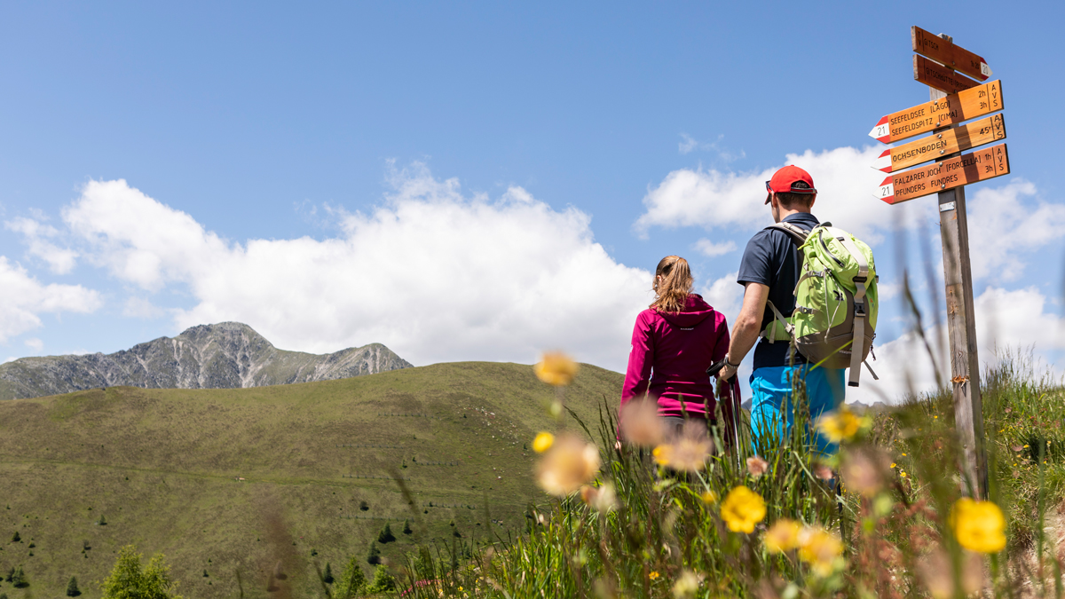 Wandern Seefeldspitze